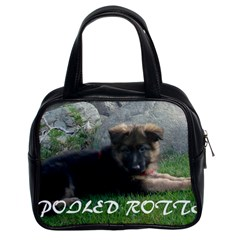 Spoiled Rotten German Shepherd Classic Handbags (2 Sides)