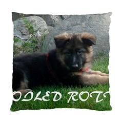 Spoiled Rotten German Shepherd Standard Cushion Case (One Side)