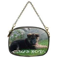Spoiled Rotten German Shepherd Chain Purses (Two Sides)