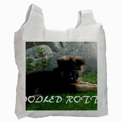 Spoiled Rotten German Shepherd Recycle Bag (Two Side)