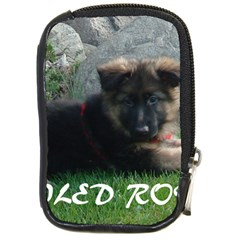Spoiled Rotten German Shepherd Compact Camera Cases