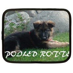 Spoiled Rotten German Shepherd Netbook Case (XXL)