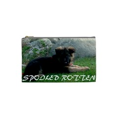 Spoiled Rotten German Shepherd Cosmetic Bag (Small)