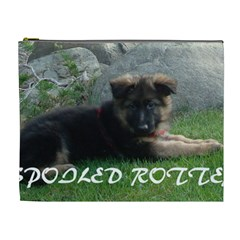 Spoiled Rotten German Shepherd Cosmetic Bag (XL)