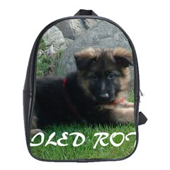 Spoiled Rotten German Shepherd School Bags(Large)