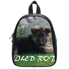 Spoiled Rotten German Shepherd School Bags (Small)