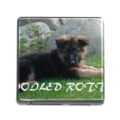 Spoiled Rotten German Shepherd Memory Card Reader (Square)