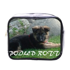 Spoiled Rotten German Shepherd Mini Toiletries Bags