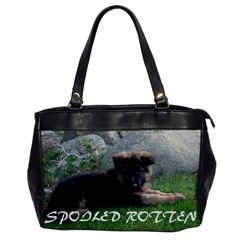 Spoiled Rotten German Shepherd Office Handbags