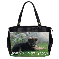 Spoiled Rotten German Shepherd Office Handbags (2 Sides)