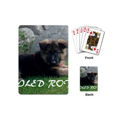 Spoiled Rotten German Shepherd Playing Cards (Mini)