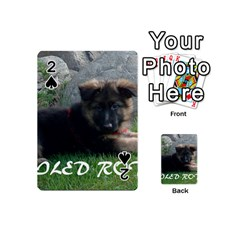 Spoiled Rotten German Shepherd Playing Cards 54 (Mini)