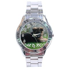 Spoiled Rotten German Shepherd Stainless Steel Analogue Watch