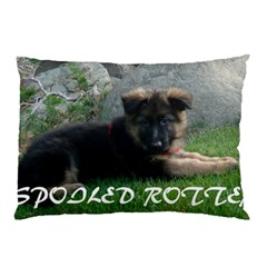 Spoiled Rotten German Shepherd Pillow Case (Two Sides)
