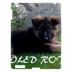 Spoiled Rotten German Shepherd Apple iPad 3/4 Hardshell Case