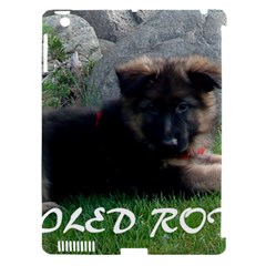 Spoiled Rotten German Shepherd Apple iPad 3/4 Hardshell Case (Compatible with Smart Cover)