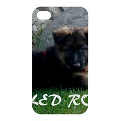 Spoiled Rotten German Shepherd Apple iPhone 4/4S Premium Hardshell Case