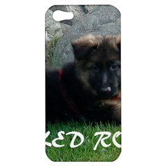 Spoiled Rotten German Shepherd Apple iPhone 5 Hardshell Case