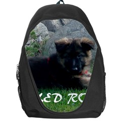 Spoiled Rotten German Shepherd Backpack Bag