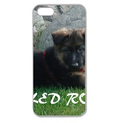 Spoiled Rotten German Shepherd Apple Seamless iPhone 5 Case (Clear)