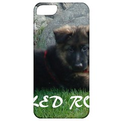 Spoiled Rotten German Shepherd Apple iPhone 5 Classic Hardshell Case