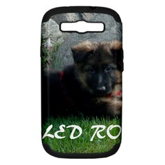 Spoiled Rotten German Shepherd Samsung Galaxy S III Hardshell Case (PC+Silicone)