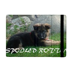 Spoiled Rotten German Shepherd Apple iPad Mini Flip Case