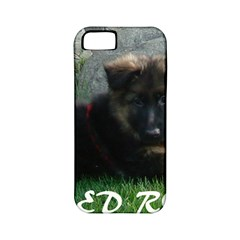 Spoiled Rotten German Shepherd Apple iPhone 5 Classic Hardshell Case (PC+Silicone)