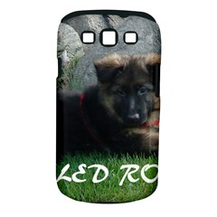 Spoiled Rotten German Shepherd Samsung Galaxy S III Classic Hardshell Case (PC+Silicone)