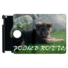 Spoiled Rotten German Shepherd Apple iPad 3/4 Flip 360 Case