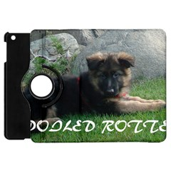 Spoiled Rotten German Shepherd Apple iPad Mini Flip 360 Case
