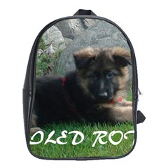 Spoiled Rotten German Shepherd School Bags (XL)