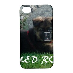 Spoiled Rotten German Shepherd Apple iPhone 4/4S Hardshell Case with Stand