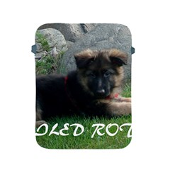 Spoiled Rotten German Shepherd Apple iPad 2/3/4 Protective Soft Cases