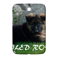 Spoiled Rotten German Shepherd Samsung Galaxy Note 8.0 N5100 Hardshell Case