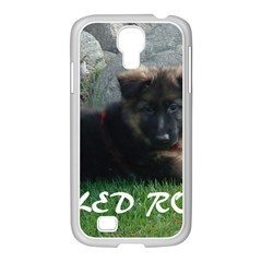 Spoiled Rotten German Shepherd Samsung GALAXY S4 I9500/ I9505 Case (White)