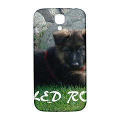 Spoiled Rotten German Shepherd Samsung Galaxy S4 I9500/I9505  Hardshell Back Case