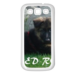 Spoiled Rotten German Shepherd Samsung Galaxy S3 Back Case (White)