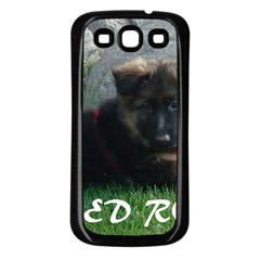 Spoiled Rotten German Shepherd Samsung Galaxy S3 Back Case (Black)