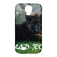 Spoiled Rotten German Shepherd Samsung Galaxy S4 Classic Hardshell Case (PC+Silicone)
