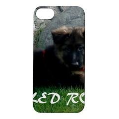 Spoiled Rotten German Shepherd Apple iPhone 5S/ SE Hardshell Case