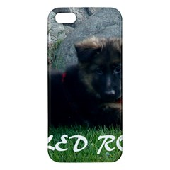 Spoiled Rotten German Shepherd iPhone 5S/ SE Premium Hardshell Case