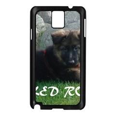 Spoiled Rotten German Shepherd Samsung Galaxy Note 3 N9005 Case (Black)