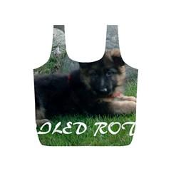 Spoiled Rotten German Shepherd Full Print Recycle Bags (S)