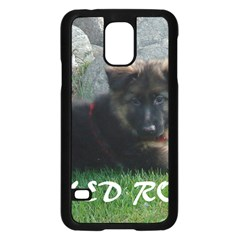 Spoiled Rotten German Shepherd Samsung Galaxy S5 Case (Black)