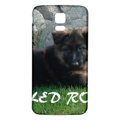 Spoiled Rotten German Shepherd Samsung Galaxy S5 Back Case (White)