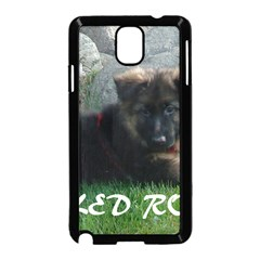 Spoiled Rotten German Shepherd Samsung Galaxy Note 3 Neo Hardshell Case (Black)