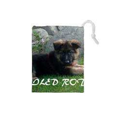 Spoiled Rotten German Shepherd Drawstring Pouches (Small)