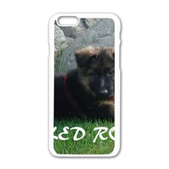 Spoiled Rotten German Shepherd Apple iPhone 6/6S White Enamel Case