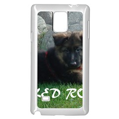 Spoiled Rotten German Shepherd Samsung Galaxy Note 4 Case (White)
